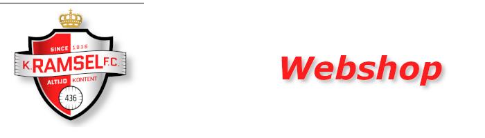 Webshop K. Ramsel FC.